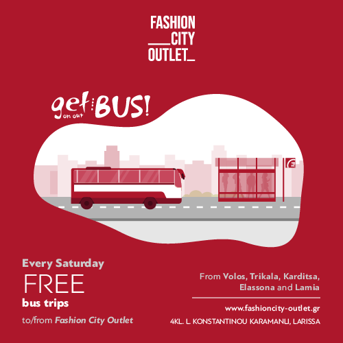 Free bus trips from/to Fashion City Outlet