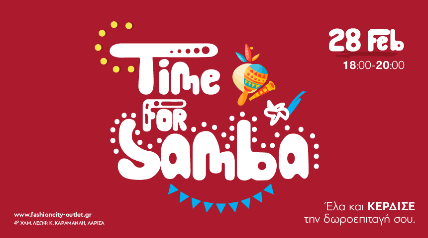 Time for samba!