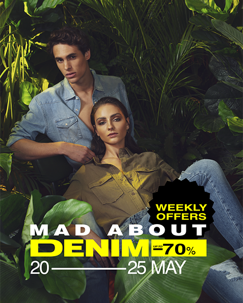 DENIM WEEK AT FASHION CITY OUTLET!