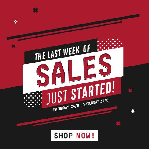 The Big Sale off!