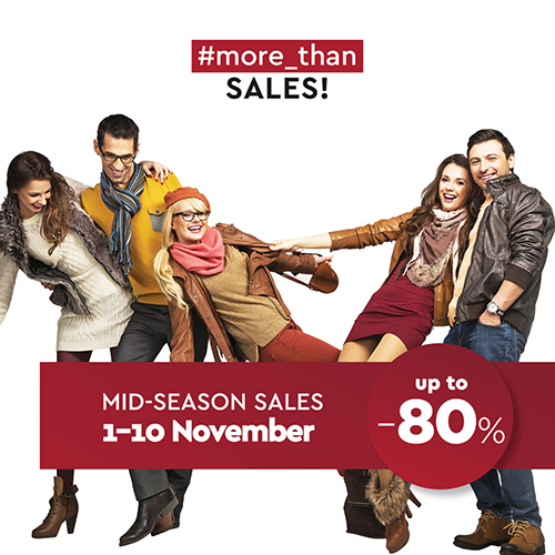 #MORE_THAN SALES UP TO 80% OFF ON MID-SALES NOVEMBER!