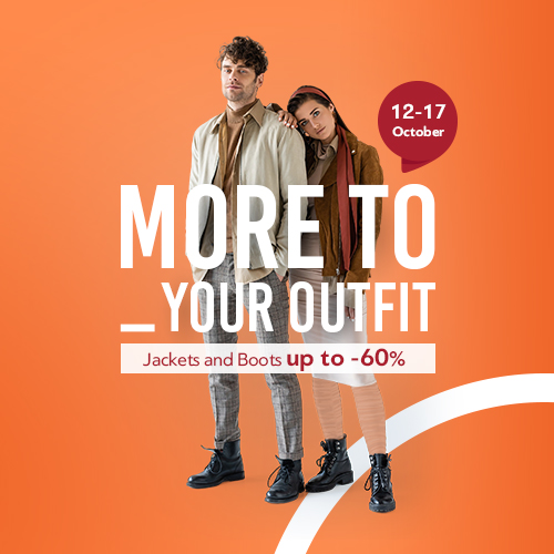 Raincoats & Boots up to -60%