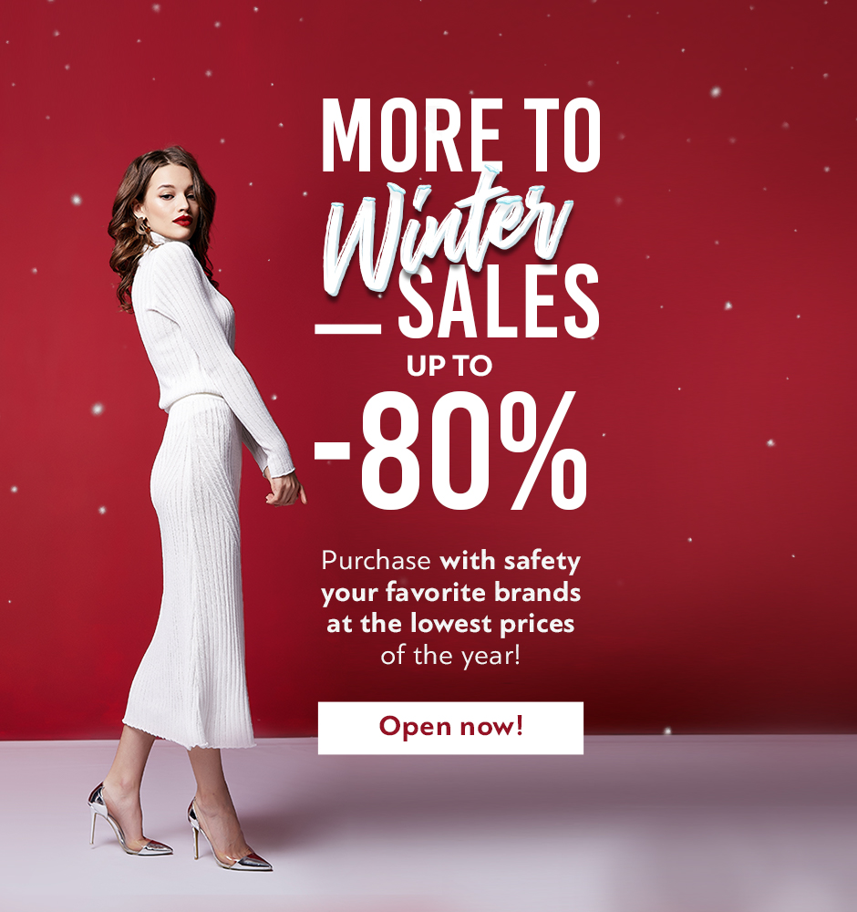 Winter Sales up to -80% !